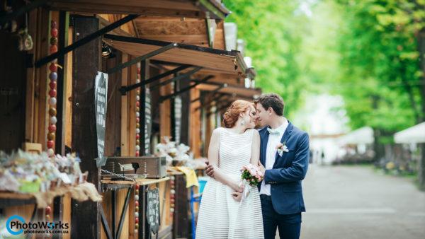 свадебный фотосет по центру Киева wedding photo
